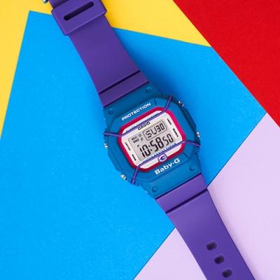 CASIO 卡西歐 BABY-G 25周年限量手錶(BGD-525F-6)