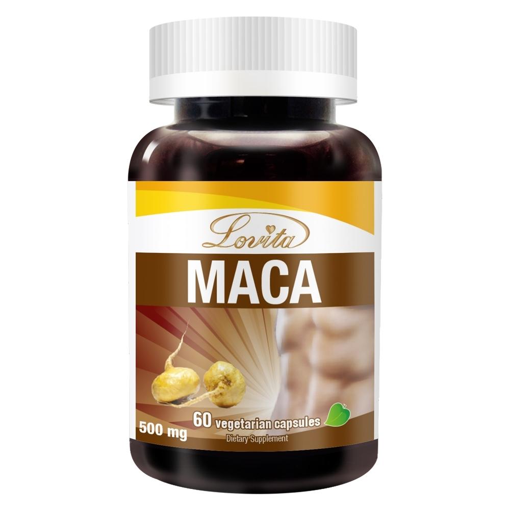 Lovita愛維他 3倍濃縮瑪卡1500mg素食膠囊60顆 (馬卡)