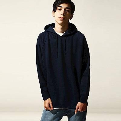 基本款長袖連帽T恤(6色) ZIP日本男裝