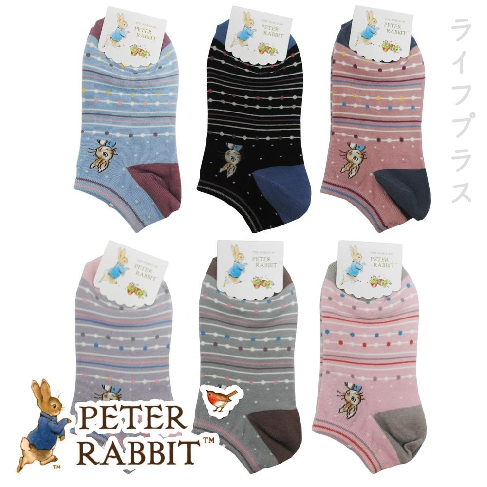 比得兔提花少淑女船型襪-SK3422/3425/3426-12雙入