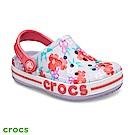 Crocs 卡駱馳 (童鞋) 貝雅卡駱班花卉克駱格 205810-530