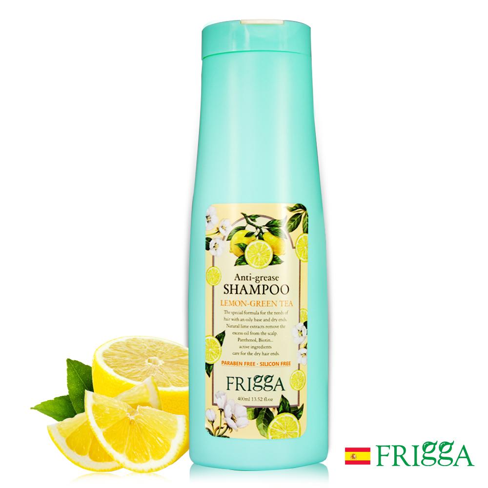芙莉嘉Frigga檸檬綠茶抗油洗髮精400ml(抗油去屑專用)