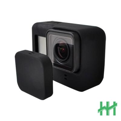 【HH】GoPro HERO7 矽膠護套+鏡頭蓋 (黑)