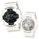 G-SHOCK&BABY-G 冷冽抗暑色調重機裝置Man錶/繽紛夜光羅馬簡約錶-雪花情人版 product thumbnail 1