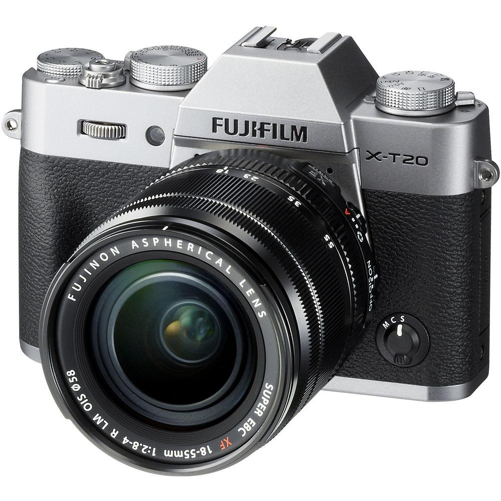 FUJIFILM X-T20 XF18-55mm KIT組 銀色 (中文平輸)