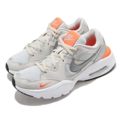 Nike 休閒鞋 Air Max Fusion 運動 男鞋 氣墊 舒適 避震 輕量 反光 球鞋 米白 銀 CJ1670008