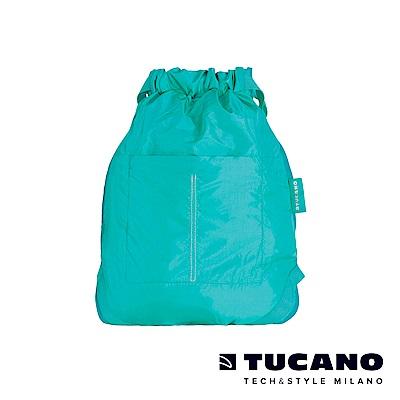 TUCANO COMPATTO 超輕量折疊收納防水束口袋-天空藍