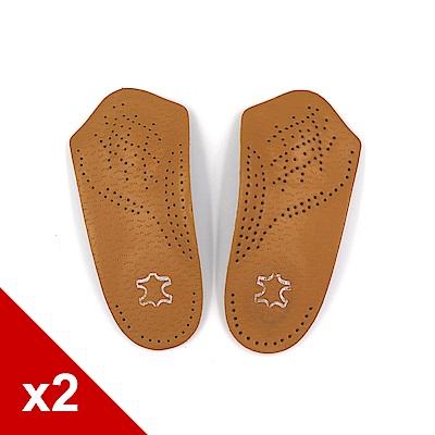 糊塗鞋匠 優質鞋材 H37 PU牛皮足弓七分板 2雙