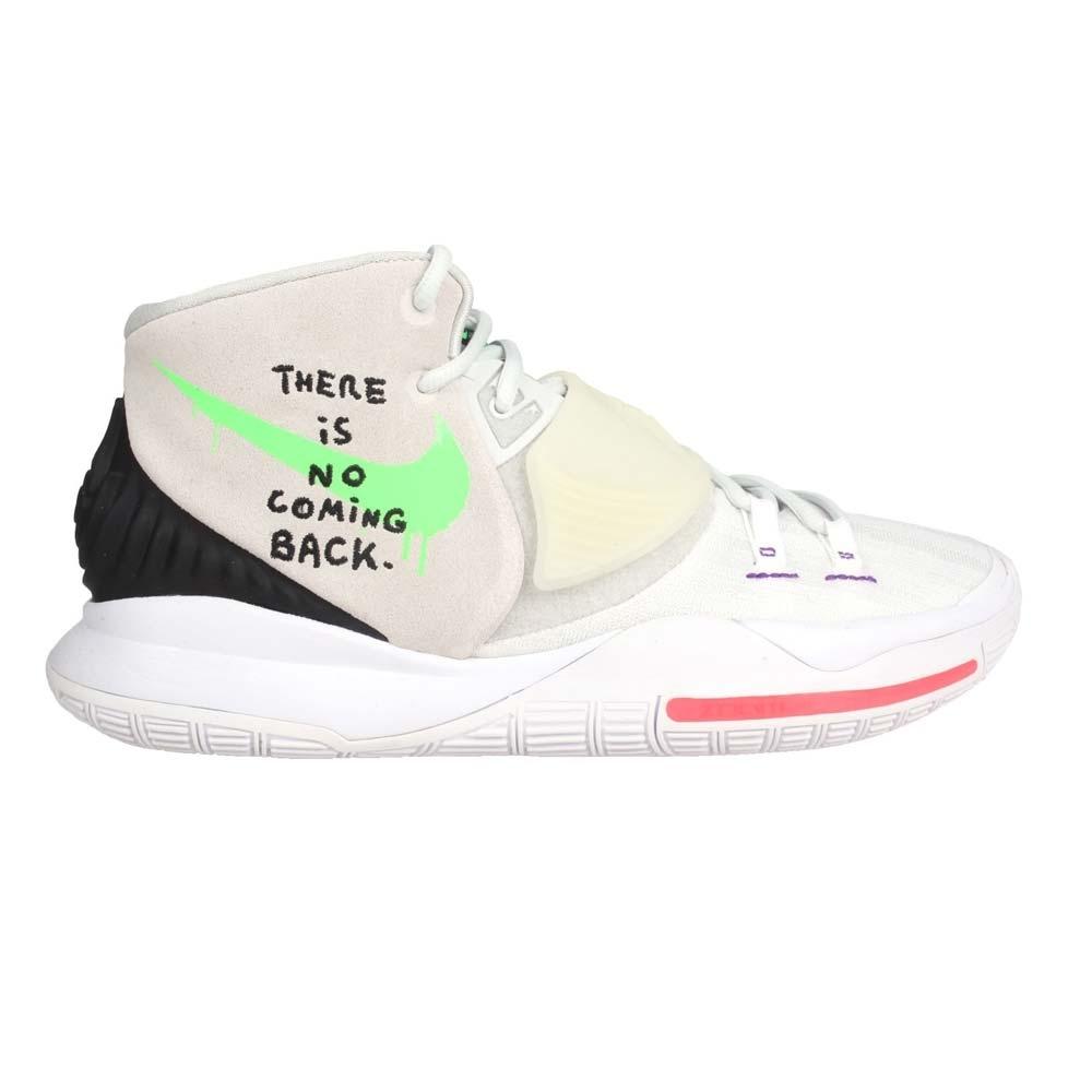 NIKE KYRIE 6 EP 男籃球鞋-避震 厄文 魔鬼氈 中筒 氣墊 BQ4631005 灰黑綠