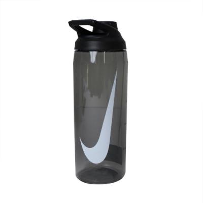Nike 水壺 Hyper Charge Twist Cap 大口徑水壺 防漏水瓶蓋 運動 籃球 單車 黑 白 N100062202524