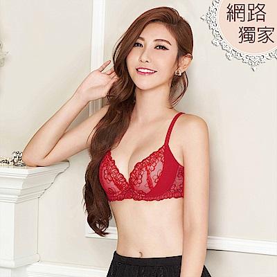 瑪登瑪朵 S-Select內衣  B-E罩杯(火焰紅)