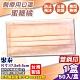 (雙鋼印) 聚泰 聚隆 醫療口罩 (蜜糖橘) 50入/盒 (台灣製造 醫用口罩 CNS14774) product thumbnail 1