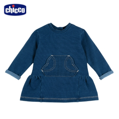 chicco-To Be BG-針織牛仔洋裝