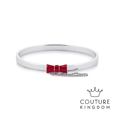 Disney Jewellery by Couture Kingdom 紅蝴蝶結鍍白金手環