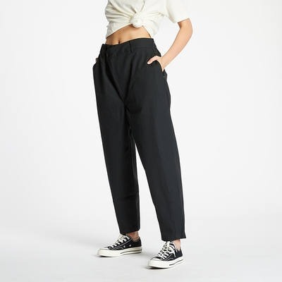 CONVERSE SHAPES TRIANGLE FRONT CHINO 長褲 寬褲 男款 女款 黑色 10020970-A01