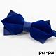 per-pcs 雙層藍蝴蠂結領結_M-098 product thumbnail 1