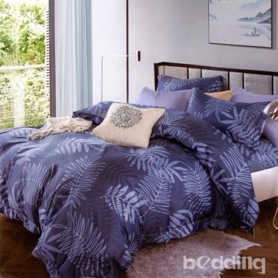 BEDDING-3M專利+頂級天絲-雙人薄床包+雙人兩用被套四件組-千葉