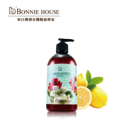 Bonnie House 檸檬香桃木頭皮淨化控油洗髮精500ml