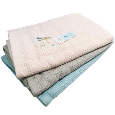 比得兔提緞精繡浴巾2入-PR476/編織格浴巾-PR573-BT