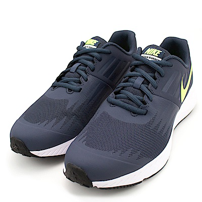 NIKE STAR RUNNER(GS) 女慢跑鞋 907254404 藍
