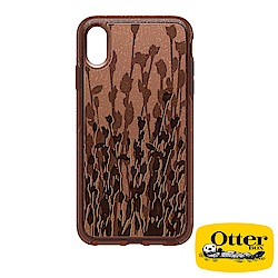 OtterBox iPhoneXS Max炫彩幾何透明系列保護殼-黃昏枯柳