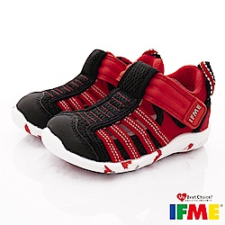 IFME健康機能鞋 輕量透氣排水款 NI00711黑(寶寶段)