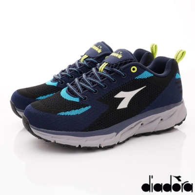 DIADORA-戶外越野氣動跑鞋款 9ASE516藍(男段)