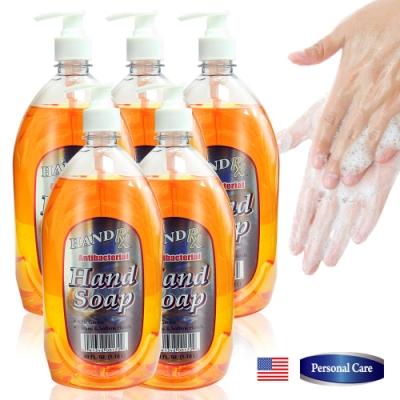 美國HAND RX 超霸號抗菌洗手乳1180ml五入