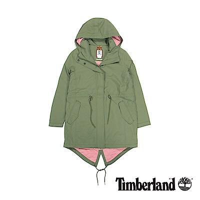 Timberland  女款大地色DV Pine Mtn 鋪棉連帽外套