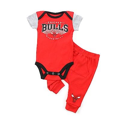 NBA 新生兒包屁衣套裝 公牛隊