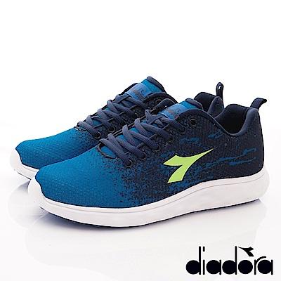 DIADORA-減壓動能跑鞋款 SI956藍(男段)