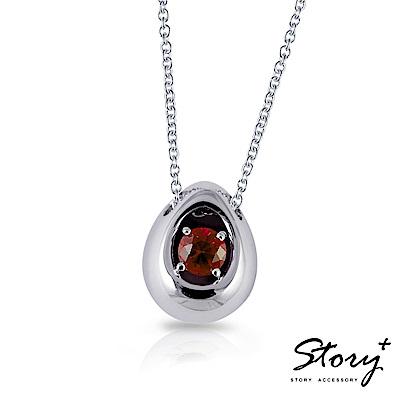 STORY故事銀飾-誕生石系列-誕(蛋)生純銀項鍊