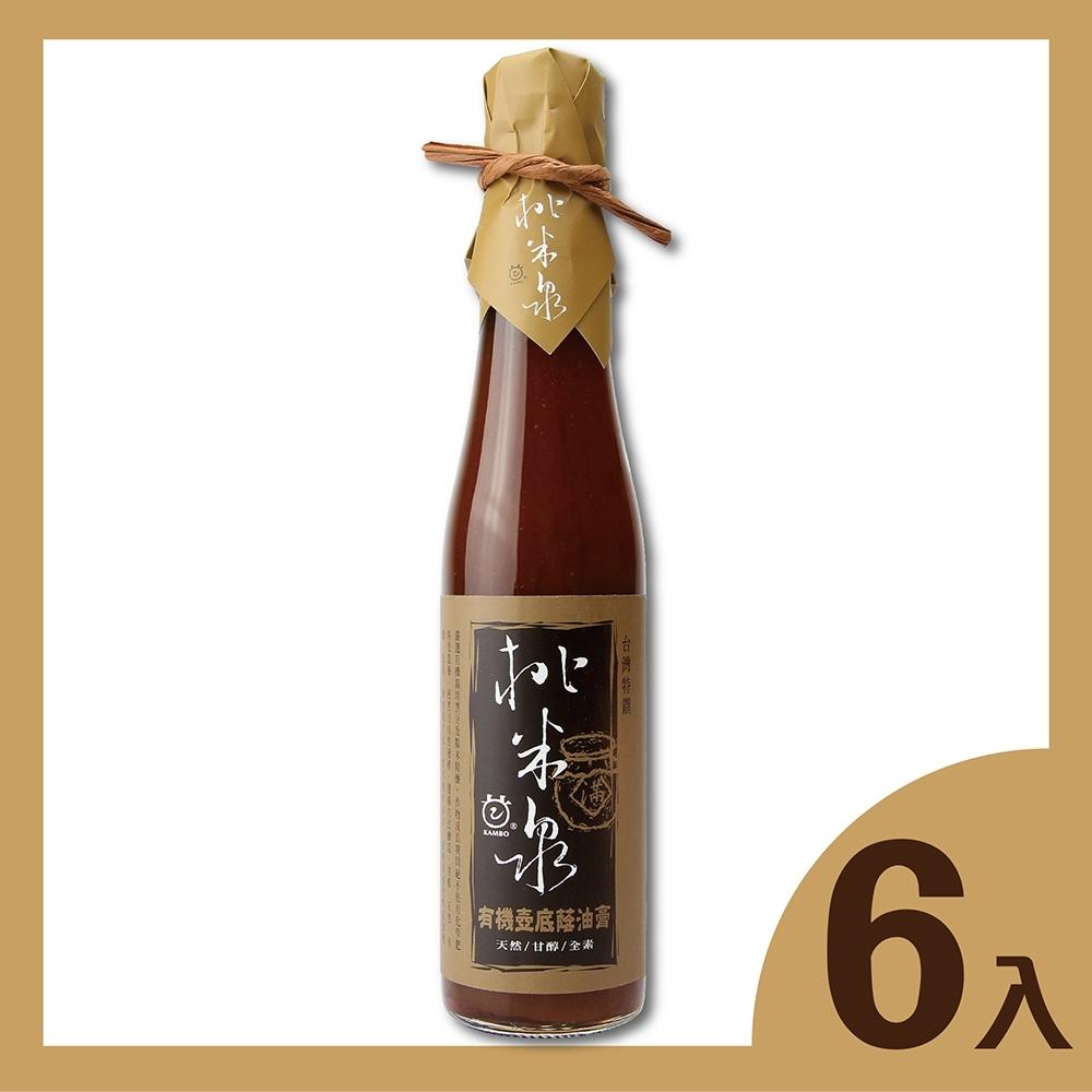 桃米泉 有機壺底蔭油膏6瓶(410ml/瓶)