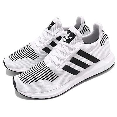 adidas 慢跑鞋 Swift Run 襪套 運動 男女鞋