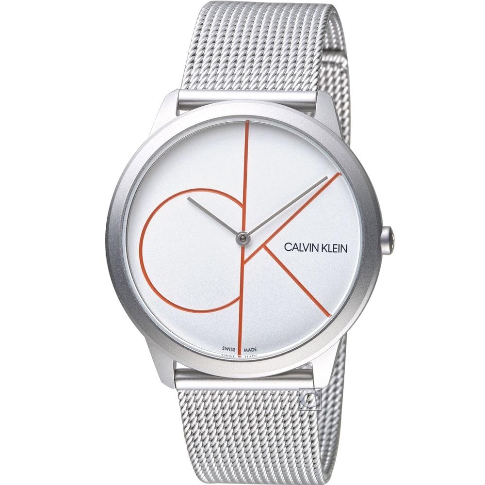 Calvin Klein minimal大 ck簡約時尚腕錶(K3M51152)40mm