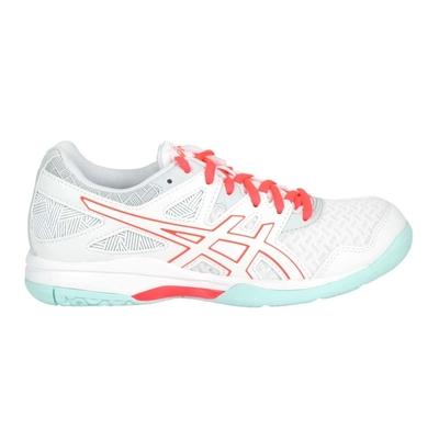ASICS GEL-TASK 2 女排羽球鞋-排球 羽球 羽毛球 亞瑟士 1072A038-960 白亮粉淺綠