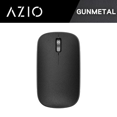 AZIO RETRO R.C.M. GUNMETAL 無線藍牙復古牛皮滑鼠(黑色)