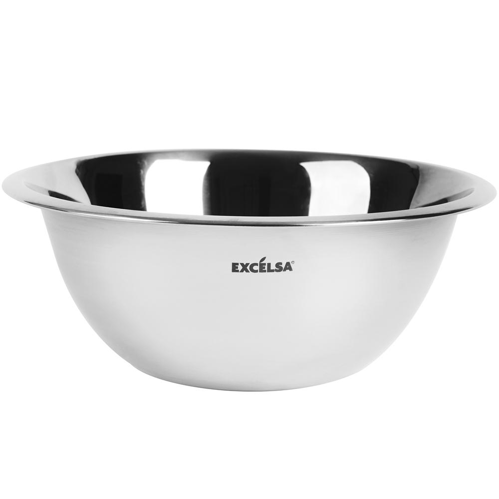 EXCELSA 不鏽鋼打蛋盆(0.5L)