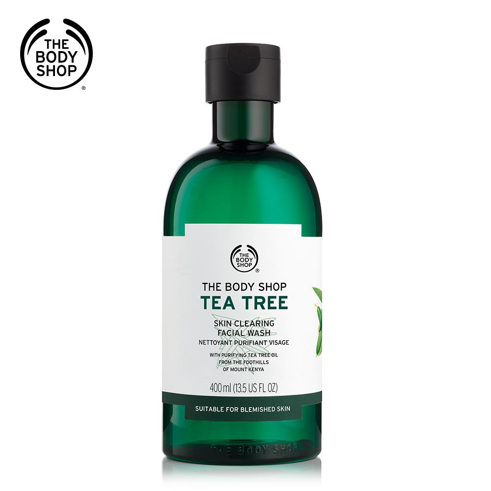 The Body Shop 茶樹淨膚深層潔面膠-400ML