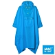 【MAC IN A SAC】中性款輕巧袋著走快穿成人斗篷式雨衣MNS041螢光藍 product thumbnail 1