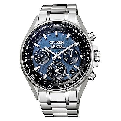 CITIZEN GPS衛星對時光動能鈦腕錶/CC4000-59L
