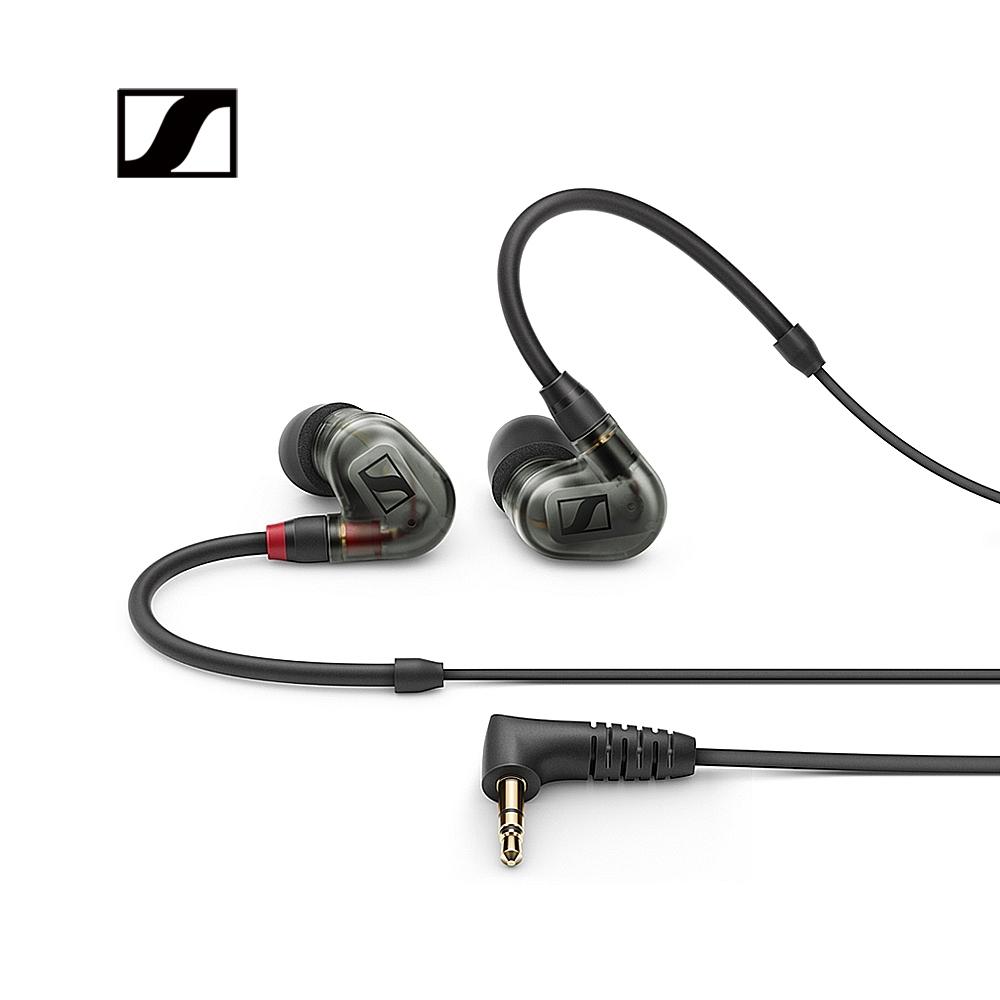 Sennheiser IE 400 PRO 專業入耳式監聽耳機(霧黑/透明 兩色可選)