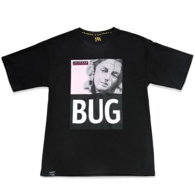 UDOU 崩壞羅馬!BUG短袖T恤(黑)