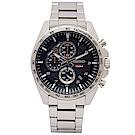 SEIKO 疾風競速計時手錶(SSB319P1)-灰黑面/44mm