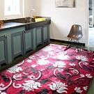 范登伯格 - 天王星 立體層次現代地毯 - 緋紅 (200 x 290cm)