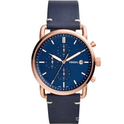 FOSSIL 紐約都會紳士腕錶(FS5404)42mm