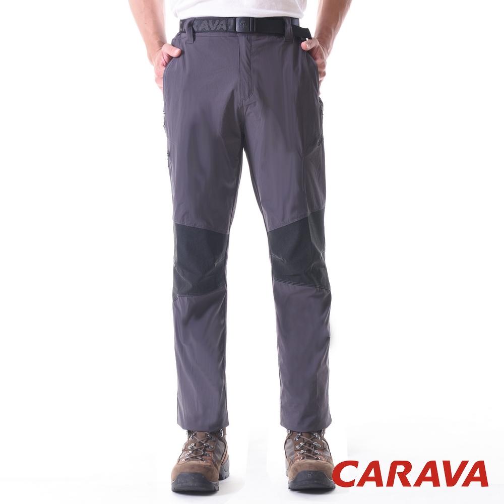 CARAVA《男登山排汗褲涼爽款》(碳灰)