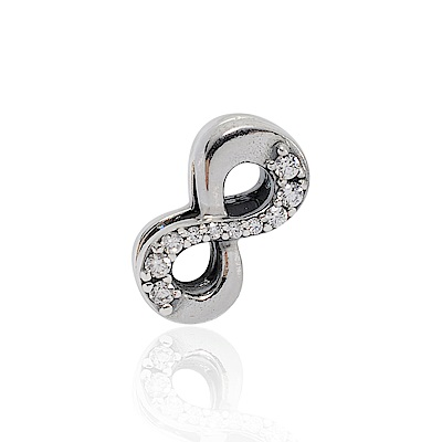 Pandora 潘朵拉 Reflexions系列 魅力無限鑲鋯 純銀墜飾