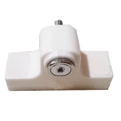HE010 塑膠高腳門閂鎖/門栓鎖/鋁門/紗窗門/落地門閂座 台灣製