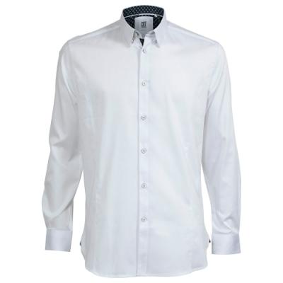 CR7-Classic Fit  雙扣領經典白色襯衫 (8707-724-1)